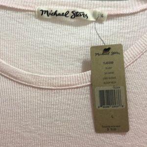 Michael Stars Tops - NWT- Michael stars long sleeve scoop neck blush lg